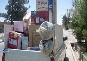 اهدای ۳۰۶ فقره جهیزیه به نوعروسان