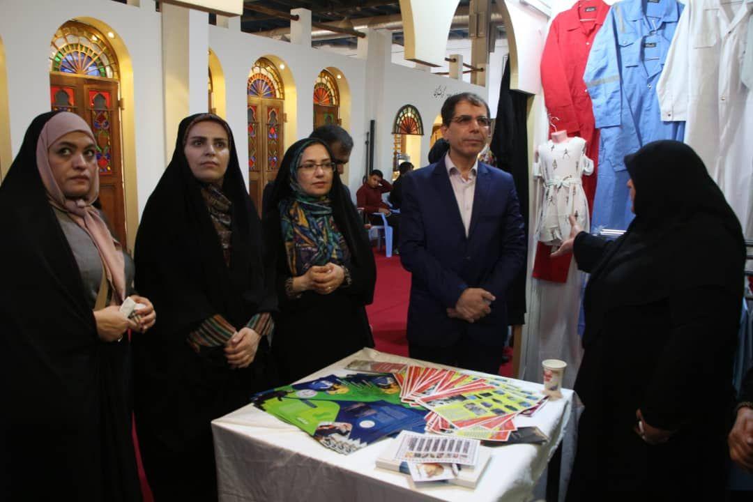 معرفی ظرفیتهای استان بوشهر در نمایشگاه توانمندیهای روستاییان و عشایر کشور