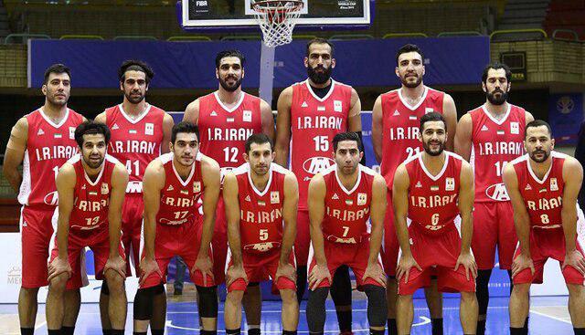 ترکیب تیم ملی بسکتبال ایران برای جام جهانی ۲۰۱۹ اعلام شد
