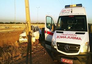 ۵ مصدوم در سانحه رانندگی در قزوین