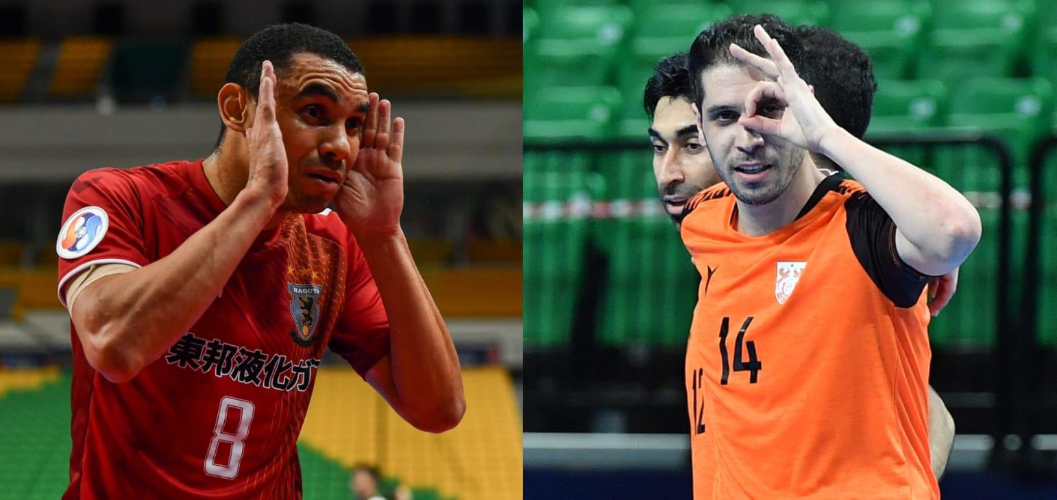 AFC:جاوید و پپیتا تعیین کننده قهرمان فوتسال جام باشگاه های آسیا هستند