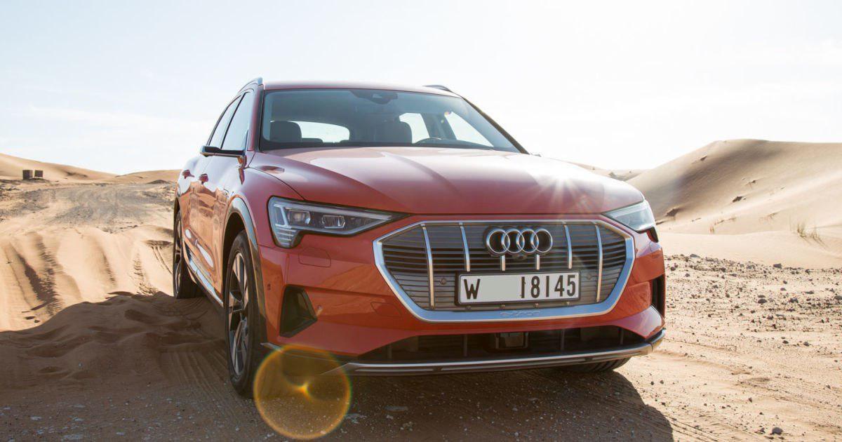 خودروی Audi's E-Tron ایمنترین اتومبیل برقی جهان +تصاویر