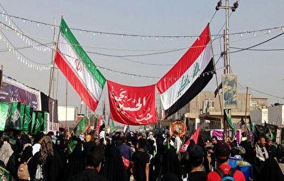 سروده عراقیها برای ایرانیها برای راهپیمایی اربعین + فیلم