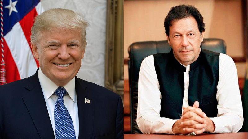 گفتوگوی تلفنی عمران خان با دونالد ترامپ درباره اوضاع کشمیر
