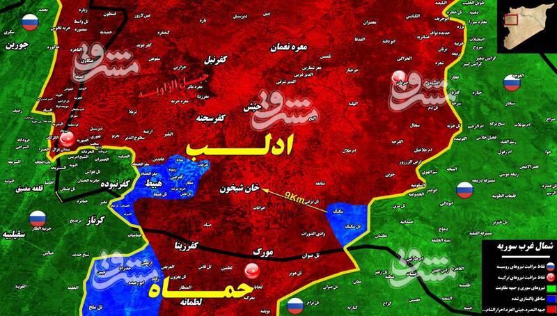 جزئیاتی از تازه ترین تحولات میدانی شمال سوریه + نقشه میدانی