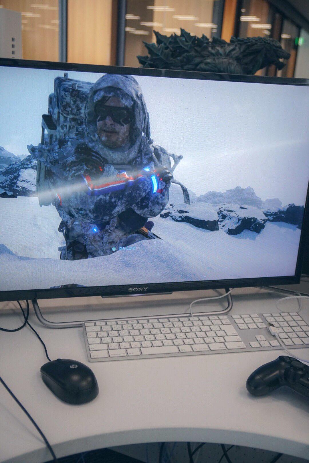 شخصیت اصلی بازی Death Stranding این بار در برف فرو میرود