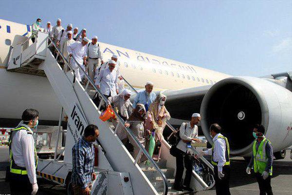 برنامه پروازهای بازگشت حجاج بیت الله الحرام در دومین روز + جزئیات