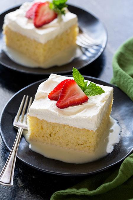 باشگاه خبرنگاران -طرز تهیه کیک سه شیر خوشمزه