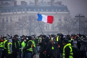 چهلمین شنبه اعتراضی فرانسه برگزار شد