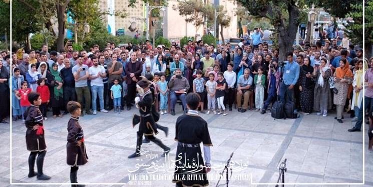 آغاز اختتامیه جشنواره نمایشهای آیینی سنتی