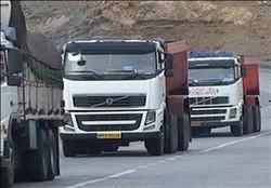طرح برخورد با کامیون های حامل اضافه تناژ در ایلام