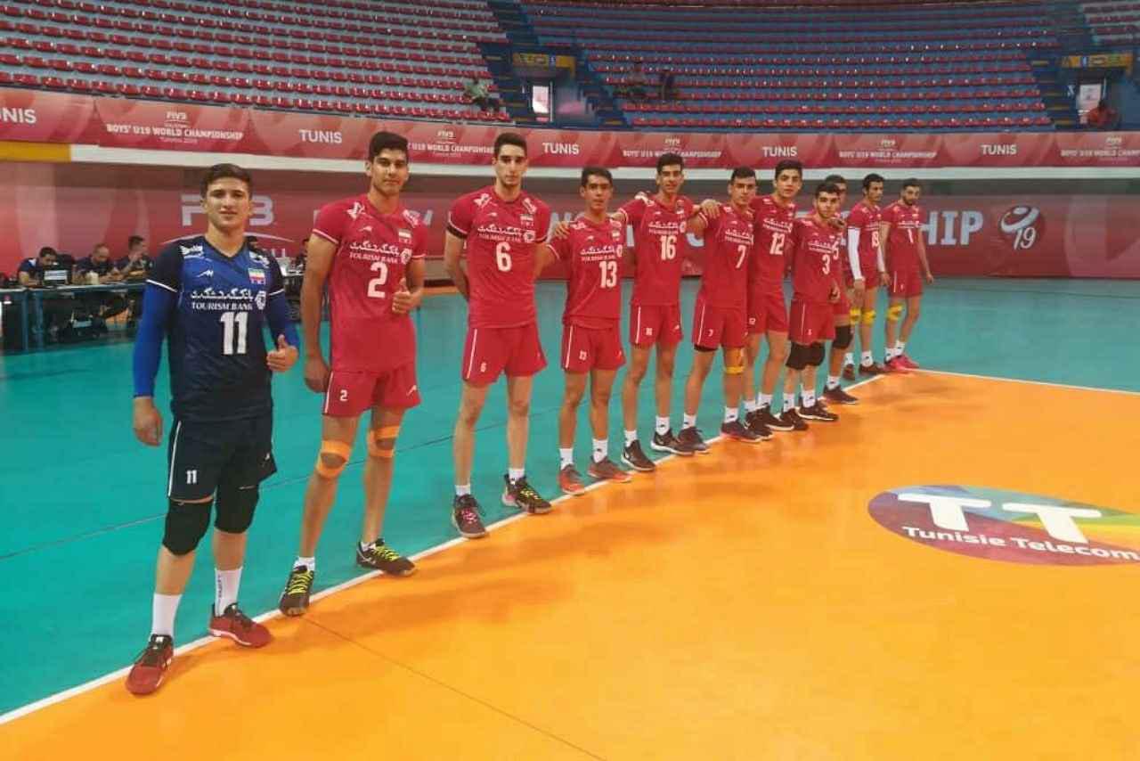 برتری والیبال نوجوانان ایران برابر برزیل
