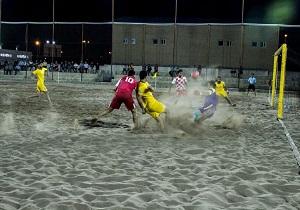 پیروزی شهرداری سمنان در لیگ برتر فوتبال ساحلی