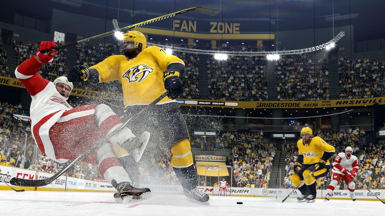 دقت و عملکرد بالای مربیان در بازی NHL 20