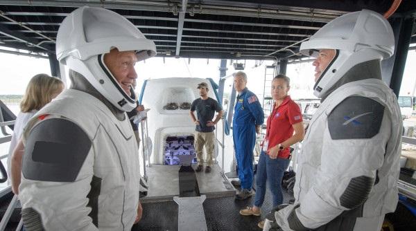 همکاری ناسا و Space X در پروژه مشترک امدادرسانی به فضانوردان