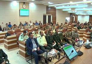 همایش بهداشت و فرماندهان در سمنان برگزار شد
