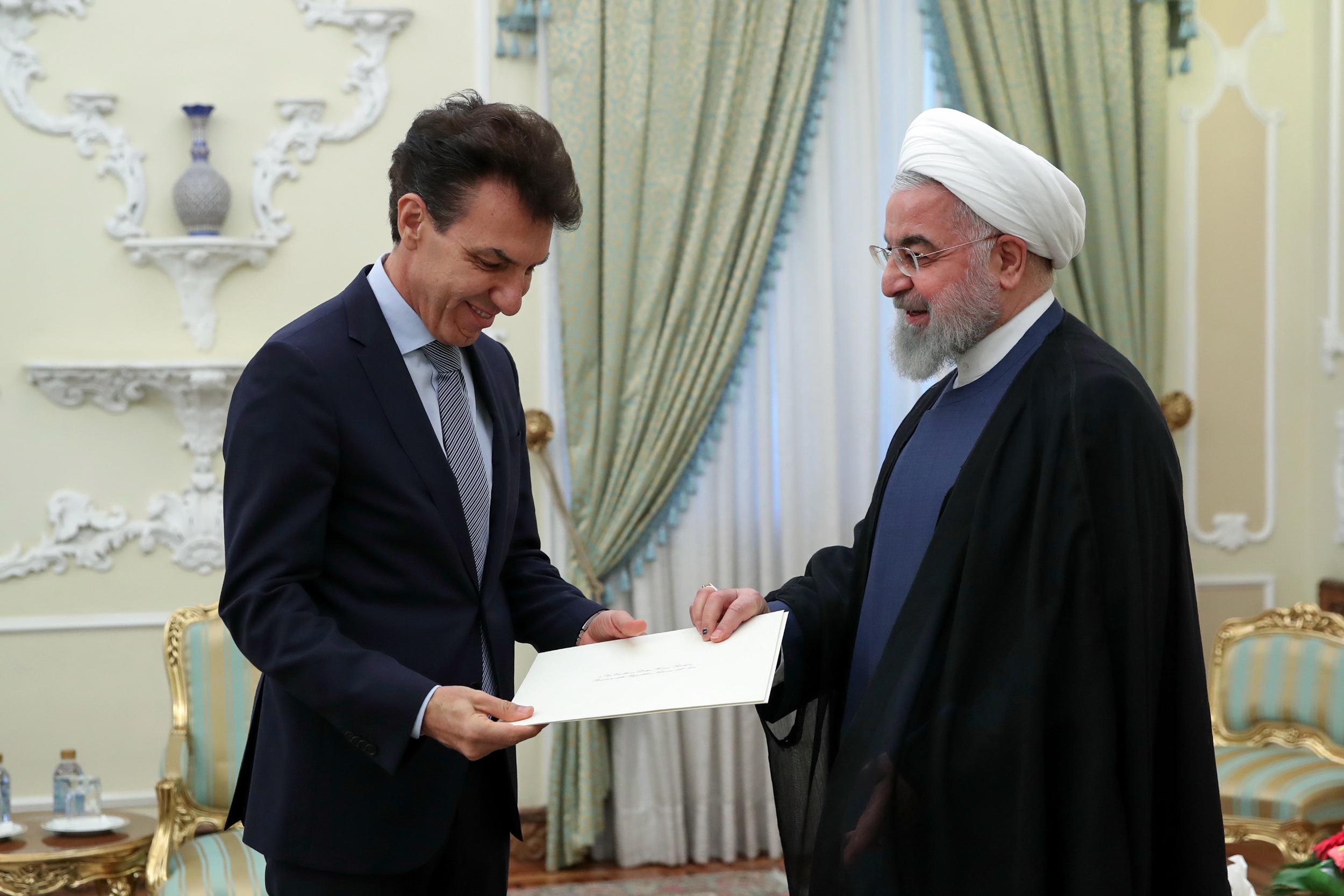 اراده ایران تقویت روابط بسیار نزدیک و صمیمانه با ایتالیا است