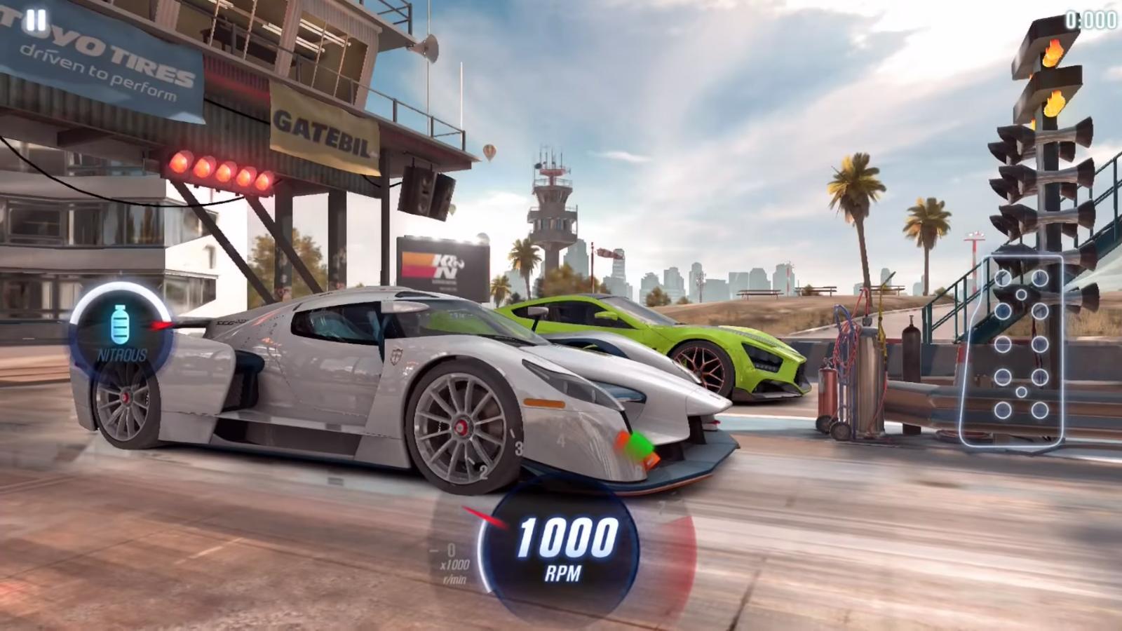 عنوان CSR Racing 2 از روی فیلم  Fast and Furious ساخته شده است