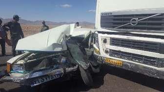 یک کشته در سانحه رانندگی
