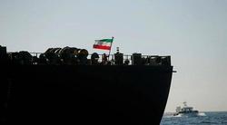 اهتزاز پرچم ایران برفراز نفتکش آدریان دریا +فیلم