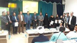 تجلیل از برگزیدهای جشنواره کتابخوانی رضوی در خوشاب