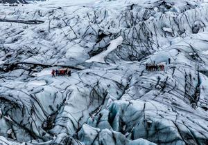 یخچال طبیعی ۷۰۰ ساله ایسلند ناپدید شد