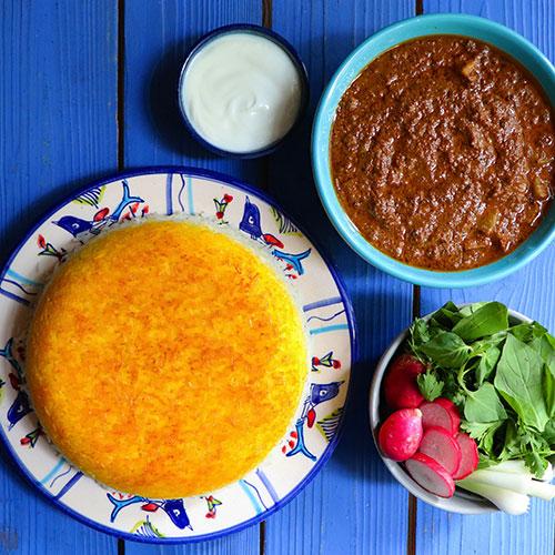 باشگاه خبرنگاران -روش تهیه خورشت ششانداز بادمجان مرحلهبهمرحله