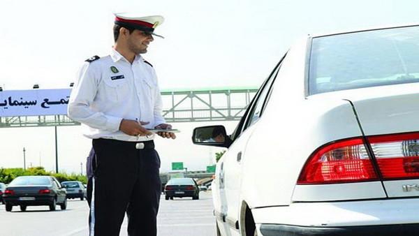 توقیف متخلفان وسایل نقلیه در نیشابور