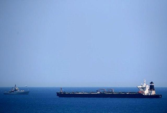 نفتکش ایرانی (آدریان دریا) جبل الطارق را ترک کرد