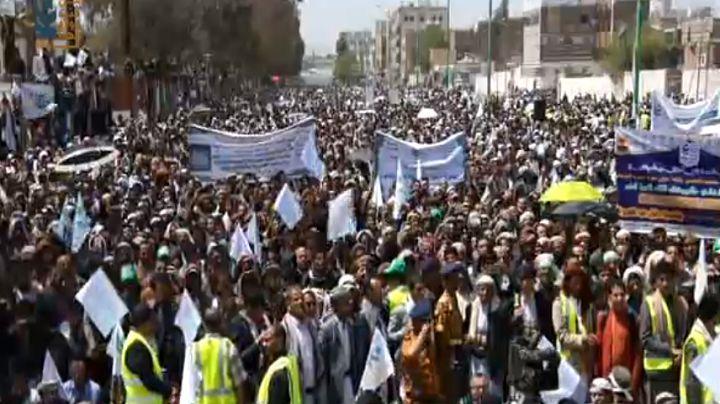 جشن بزرگ «عید ولایت» در یمن