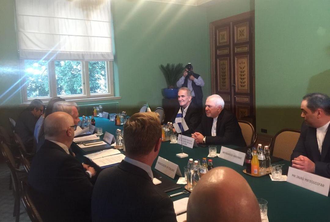 دیدار وزیر امور خارجه کشورمان با همتای فنلاندی خود