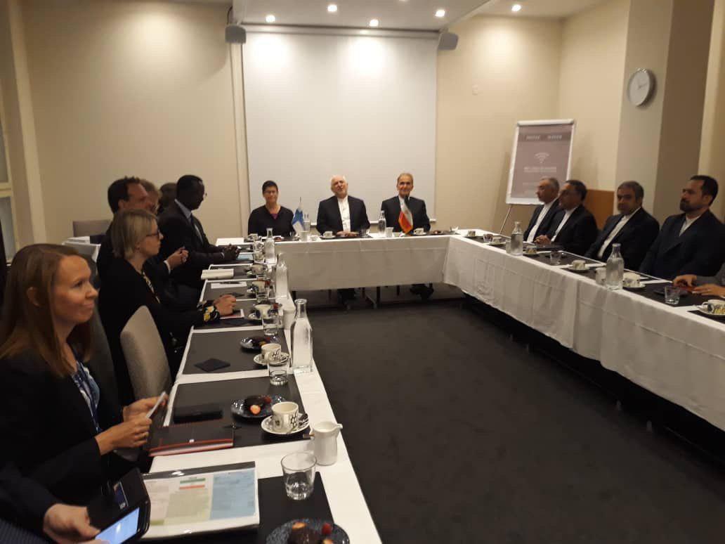 دیدار اعضای اندیشکده «ابتکار مدیریت بحران»فنلاند با دیپلمات عالی رتبه تهران