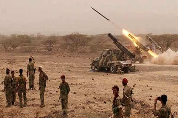 حمله موشکی ارتش یمن به رژه نظامی ائتلاف متجاوز سعودی