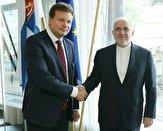باشگاه خبرنگاران -دیدار ظریف با وزیر امور توسعه و تجارت خارجی فنلاند