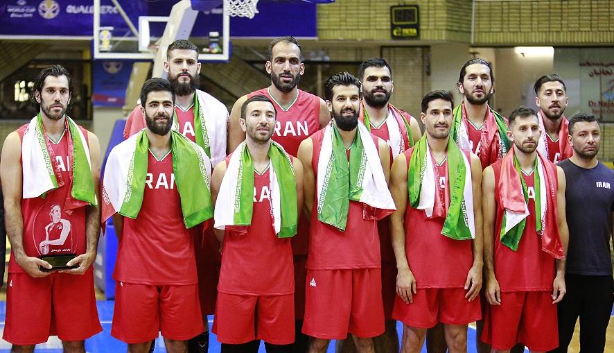 لیست نهایی تیم ملی بسکتبال برای حضور در جام جهانی ۲۰۱۹ اعلام شد