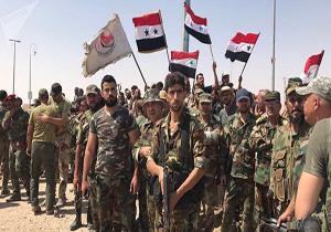 ارتش سوریه بر بزرگراه بین المللی دمشق مسلط شد