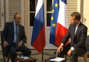 مکرون: پاریس به برجام احترام میگذارد / پوتین: از اقدامات دولت سوریه در ادلب حمایت میکنیم