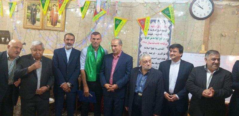 مراسم تجلیل از سادات فوتبالی برگزار شد
