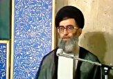 باشگاه خبرنگاران -تبریک عید غدیر توسط رهبر انقلاب به امام خمینی(ره) در حسینیه جماران + فیلم