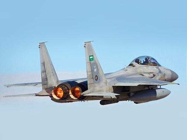 حملات هوایی جنگندههای سعودی علیه صنعا