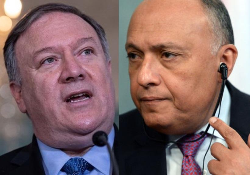 وزرای خارجه آمریکا و مصر درباره تحولات منطقه گفتوگو کردند