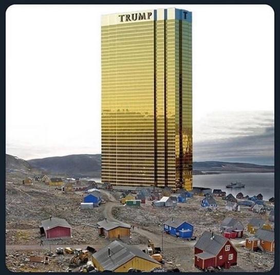 ترامپ: قول میدهم در گرینلد برج نسازم