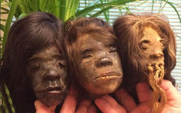 ماجرای ترسناک سرهای کوچک شده انسان ها چیست؟ + تصاویر