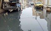 باشگاه خبرنگاران -وضعیت اسفبار فاضلاب در خیابانهای «کیانآباد» اهواز + فیلم