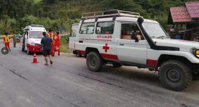 سقوط مرگبار اتوبوس گردشگران چینی به درهای در لائوس