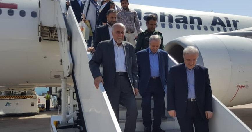 وزیر بهدشت وارد شیراز شد