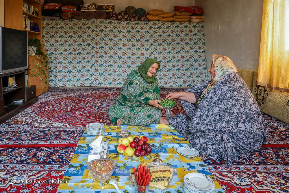 عید غدیر در روستای کلاجان سادات شهرستان گرگان
