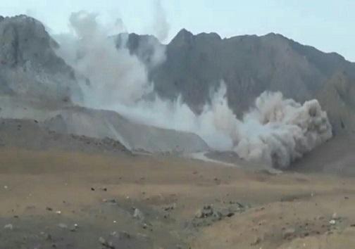 توقف فعالیت یک معدن در آبیک به علت انفجار