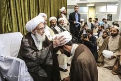 مراسم عمامه گذاری طلاب در عید غدیرخم
