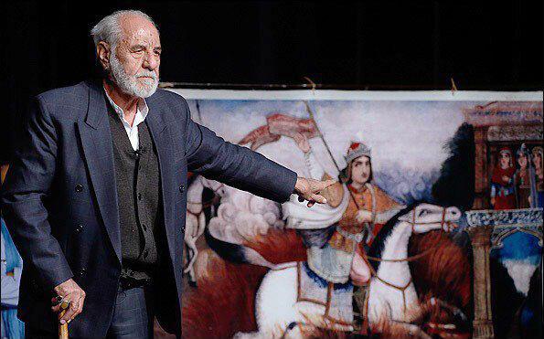 مدیر کل هنرهای نمایشی به ملاقات قدیمیترین مرشد ایرانی رفت